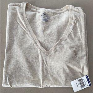 Women's Polo Ralph Lauren V Neck T Shirt